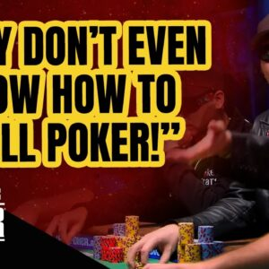 """EPIC Hellmuth Rant: """"They Don't Even Know How to Spell Poker!"""""""