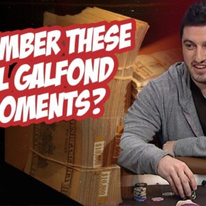 Every Big Phil Galfond High Stakes Poker Hand!