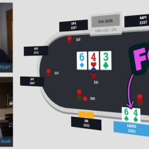 Finding A FOLD With Top 2 Pair ($1/$3 Live)