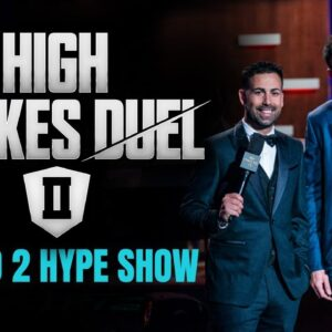 High Stakes Duel II | Round 2 | Hype Show | Phil Hellmuth vs Daniel Negreanu