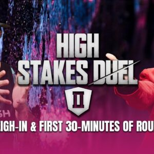 High Stakes Duel II | Round 2 | Phil Hellmuth vs Daniel Negreanu