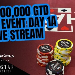 Lone Star Poker Series | $1,000,000 GTD Main Event Day 1a