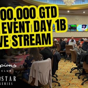 Lone Star Poker Series | $1,000,000 GTD Main Event Day 1b