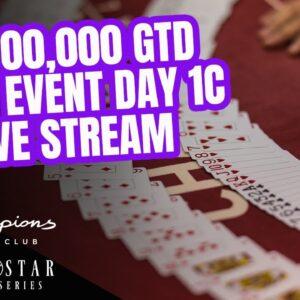 Lone Star Poker Series | $1,000,000 GTD Main Event Day 1c