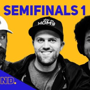 The Big Blind Poker Game Show | Semifinal ft Barstool Nate, Alex Jacob and Justin Young
