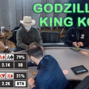 Poker Time Cash Game: Clash of the Titans