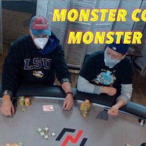Poker Time Cash game: Huge Confrontations