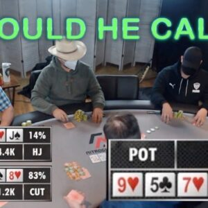 Poker Time Cash Game: Should Wonka Call this Turn Bet?