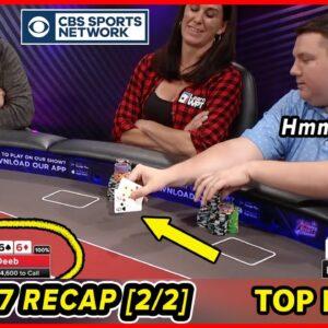 Recap CRAZIEST POKER hands | Season 7 Part 2 | Poker Night in America