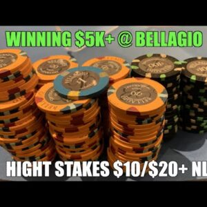 I Crush Highest Stakes I've Ever Played!! Risking It All In 10/20/40 NL! Poker Vlog Ep 153