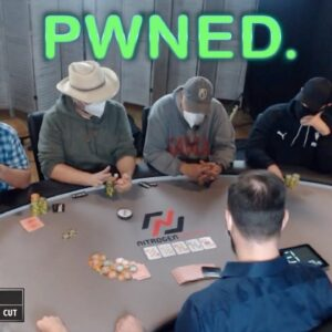 Poker Time Cash Game: Six-High Folding Out Jacks? Say it isn't So, Stuey Younger!
