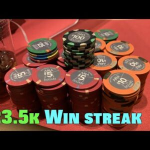I'm on $23.5k Cash Game Winning Streak!! It All Has To End At Some Point... Poker Vlog Ep 159