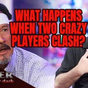 Madness vs Madness: Mike Matusow Clashes with Frank Stepuchin on Poker After Dark