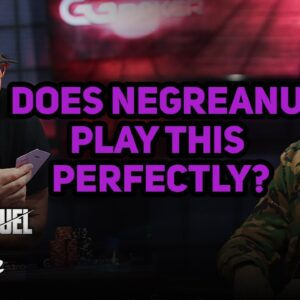 Does Daniel Negreanu Play This Perfectly vs Phil Hellmuth?