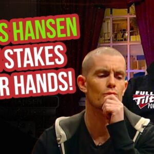 Gus Hansen EVERY High Stakes Poker Hand