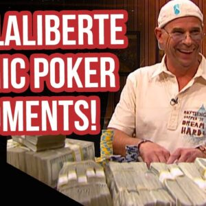 High Stakes Poker Iconic Guy Laliberte Moments