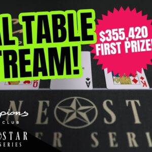 Lone Star Poker Series | $1,000,000 GTD Main Event Final Table