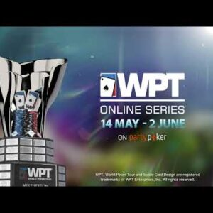 Etch your name on the Mike Sexton WPT Champions Cup -  Play the WPT Online Series on partypoker