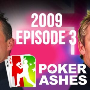Poker Ashes 2009 Episode 3 - Full Episode Tournament Poker Cricket