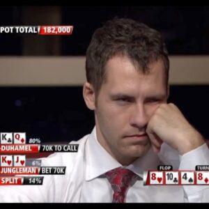 Poker Breakdown: Did Jungleman Look Too Desperate Here?