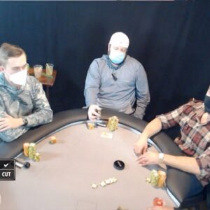Poker Time Cash Game: Incredible Calldown! Ace High is GOOD in a big pot!