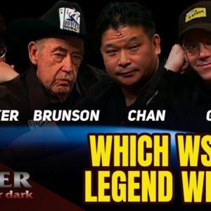 WSOP Legends $120,000 Winner-Take-All SNG on Poker After Dark!