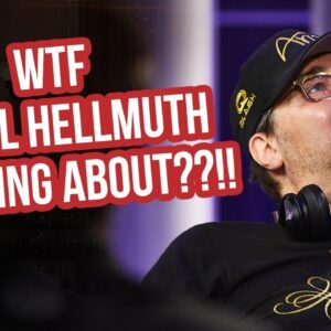 WTF is Phil Hellmuth Thinking About on High Stakes Poker?