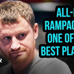 All-In Tournament Poker Final Table Rampage by David Peters!