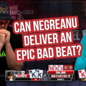 Can Negreanu Deliver Hellmuth an Epic Bad Beat with Kings vs Kings?