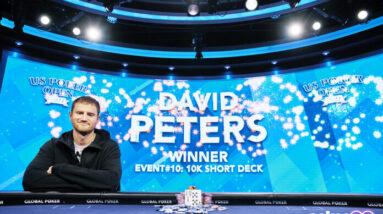 david peters wins u s poker open 10k short deck for second title