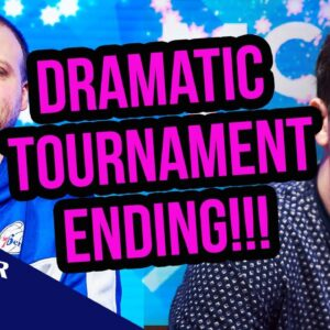 EPIC! Quads Ends Poker Tournament with Double Knockout!