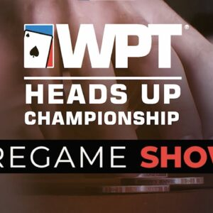 Get ready for the $25K WPT Heads Up Poker Championship by Poker King
