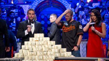 greg merson poker results memorable hands
