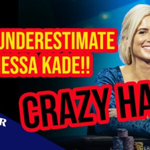 How Did Vanessa Kade Pull This Off? | US Poker Open 2021