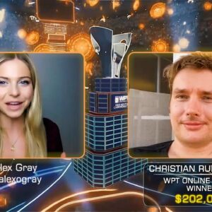 Interview with WPT Online Series Champion Christian Rudolph