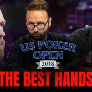 Negreanu, Koon & Chidwick Headline the 2018 U.S. Poker Open Best Hands