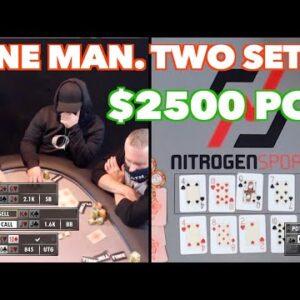 Poker Time: Hitting a Set on Both Boards! Big Pot!