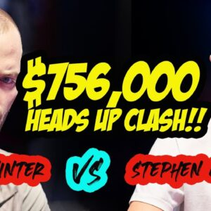 Sean Winter Clashes with Stephen Chidwick in $50,000 High Roller at 2021 U.S. Poker Open