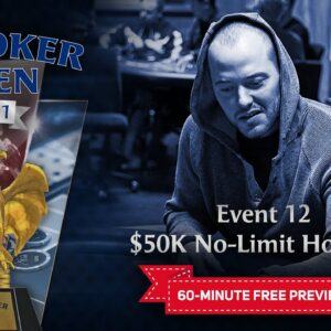 U.S. Poker Open 2021 | Event #12 $50,000 No Limit Hold'em Final Table
