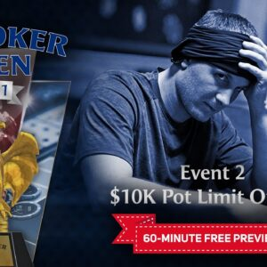 U.S. Poker Open 2021 | Event #2 $10,000 Pot Limit Omaha Final Table