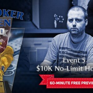 U.S. Poker Open 2021 | Event #5 $10,000 No Limit Hold'em Final Table