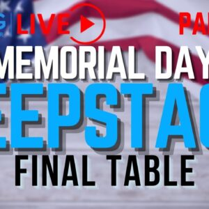 CCG poker TV: Memorial Day Deepstack part one of two