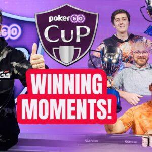 Every PokerGO Cup Championship Winning Hand!