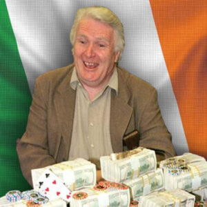 poker gained a legend when noel furlong took his dogs for a walk