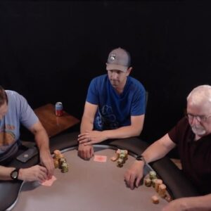 Poker Time: Bluffing BIG into Aces