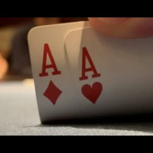 Flopping Full House In Unbelievable High Stakes All In Hand!! Wild Action! Poker Vlog Ep 172
