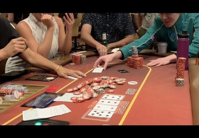 Famous Poker Player Gets Absolutely Punished In Massive All In Pot Against Me!! Poker Vlog Ep 171