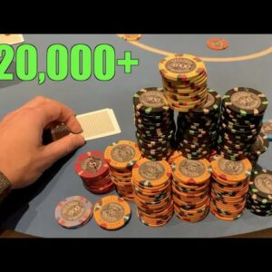 Biggest Stakes, Biggest Buy-in, And Biggest Pots That I've Ever Played! Poker Vlog Ep 173