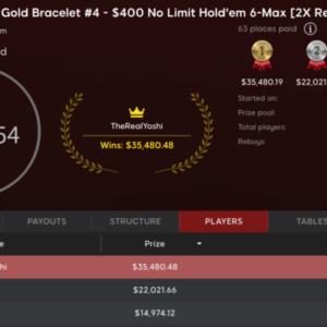 dean morrow wins wsop pa six max bracelet for 35k