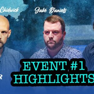 U.S. Poker Open $10,000 No Limit Hold'em Event #1 Highlights with Stephen Chidwick